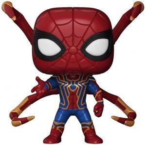 Funko POP de Iron Spiderman de pies - Los mejores FUNKO POP de Spiderman - Los mejores FUNKO POP del Spiderverse - Funko POP de Marvel Comics - Los mejores FUNKO POP de los Vengadores