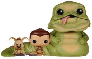 Funko POP de Jabba, Leia y Salacious B. Crumb - Los mejores FUNKO POP de Jabba the Hutt - Los mejores FUNKO POP de personajes de Star Wars