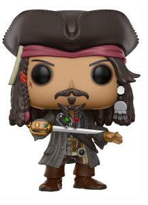 Funko POP de Jack Sparrow capitán - Los mejores FUNKO POP de Piratas del Caribe - Funko POP de películas de cine