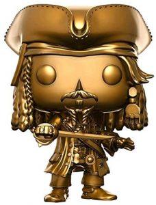 Funko POP de Jack Sparrow dorado - Los mejores FUNKO POP de Piratas del Caribe - Funko POP de películas de cine