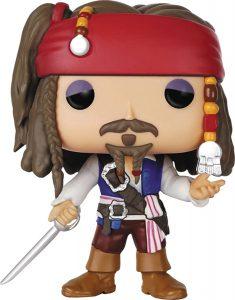 Funko POP de Jack Sparrow sin sombrero - Los mejores FUNKO POP de Piratas del Caribe - Funko POP de películas de cine