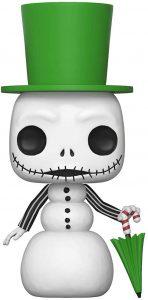 Funko POP de Jack versión muñeco de nieve - Los mejores FUNKO POP de Pesadilla antes de navidad - FUNKO POP de Disney