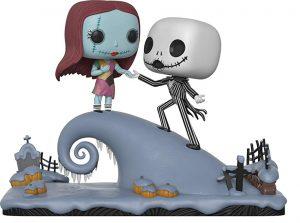 Funko POP de Jack y Sally debajo de la luna - Los mejores FUNKO POP de Pesadilla antes de navidad - FUNKO POP de Disney