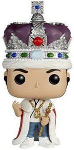 Funko POP de Jim Moriarty con la corona - Los mejores FUNKO POP de la serie de Sherlock - Funko POP de series de televisión
