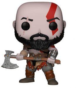 Funko POP de Kratos en God of War 4 - Los mejores FUNKO POP del God of War - Los mejores FUNKO POP de personajes de videojuegos