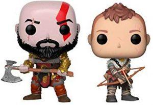 Funko POP de Kratos y Atreus en God of War 4 - Los mejores FUNKO POP del God of War - Los mejores FUNKO POP de personajes de videojuegos