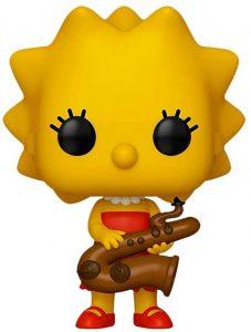 Funko POP de Lisa Simpson - Los mejores FUNKO POP de los Simpsons - Los mejores FUNKO POP de series de dibujos animados