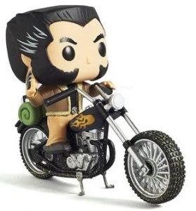 Funko POP de Lobezno en motocicleta - Los mejores FUNKO POP de Lobezno - Los mejores FUNKO POP de los X-Men - Funko POP de Marvel Comics - Los mejores FUNKO POP de los mutantes