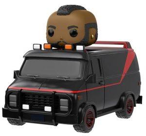 Funko POP de M.A. en la furgoneta - Los mejores FUNKO POP de la serie del Equipo A - Funko POP de series de televisión