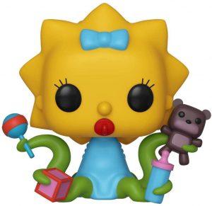 Funko POP de Maggie Alien - Los mejores FUNKO POP de los Simpsons Halloween - Los mejores FUNKO POP de series de dibujos animados