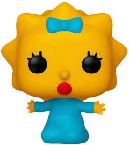 Funko POP de Maggie Simpson - Los mejores FUNKO POP de los Simpsons - Los mejores FUNKO POP de series de dibujos animados