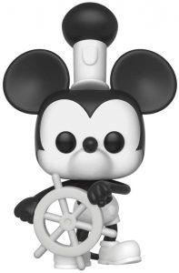 Funko POP de Mickey Mouse Steamboat Willie - Los mejores FUNKO POP de Mickey Mouse - FUNKO POP de Disney