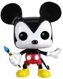 Funko POP de Mickey Mouse con pincel - Los mejores FUNKO POP de Mickey Mouse - FUNKO POP de Disney