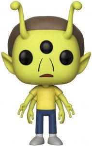 Funko POP de Morty Alien - Los mejores FUNKO POP de Rick y Morty - Los mejores FUNKO POP de series de dibujos animados