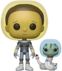 Funko POP de Morty traje espacial - Los mejores FUNKO POP de Rick y Morty - Los mejores FUNKO POP de series de dibujos animados