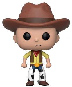 Funko POP de Morty vaquero - Los mejores FUNKO POP de Rick y Morty - Los mejores FUNKO POP de series de dibujos animados