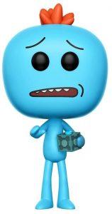 Funko POP de Mr. Meeseeks con caja - Los mejores FUNKO POP de Rick y Morty - Los mejores FUNKO POP de series de dibujos animados