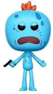 Funko POP de Mr. Meeseeks exclusivo chase - Los mejores FUNKO POP de Rick y Morty - Los mejores FUNKO POP de series de dibujos animados