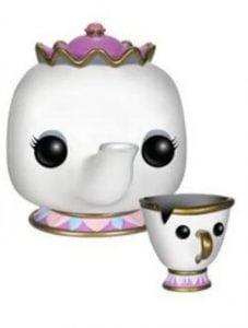 Funko POP de Mrs. Potts y Chip - Los mejores FUNKO POP de la Bella y La Bestia - FUNKO POP de Disney
