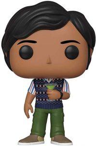 Funko POP de Raj Koothrappali - Los mejores FUNKO POP de The Big Bang Theory - Funko POP de series de televisión