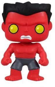 Funko POP de Red Hulk - Los mejores FUNKO POP de Hulk - Funko POP de Marvel Comics - Los mejores FUNKO POP de los Vengadores