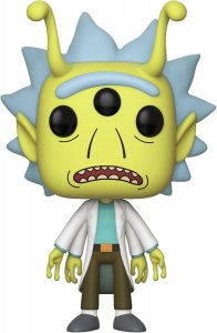 Funko POP de Rick Alien - Los mejores FUNKO POP de Rick y Morty - Los mejores FUNKO POP de series de dibujos animados