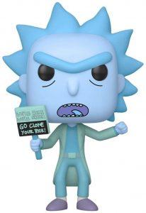 Funko POP de Rick Holograma - Los mejores FUNKO POP de Rick y Morty - Los mejores FUNKO POP de series de dibujos animados