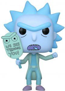 Funko POP de Rick Holograma oscuridad - Los mejores FUNKO POP de Rick y Morty - Los mejores FUNKO POP de series de dibujos animados