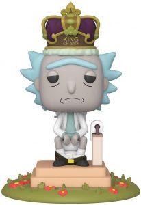 Funko POP de Rick King of S... - Los mejores FUNKO POP de Rick y Morty - Los mejores FUNKO POP de series de dibujos animados