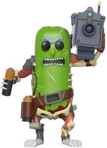 Funko POP de Rick Pepinillo con láser - Los mejores FUNKO POP de Rick y Morty - Los mejores FUNKO POP de series de dibujos animados