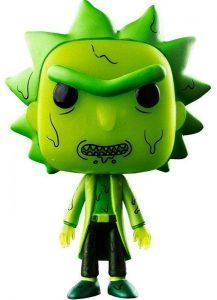 Funko POP de Rick Tóxico - Los mejores FUNKO POP de Rick y Morty - Los mejores FUNKO POP de series de dibujos animados