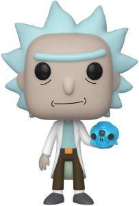 Funko POP de Rick con calavera de cristal - Los mejores FUNKO POP de Rick y Morty - Los mejores FUNKO POP de series de dibujos animados