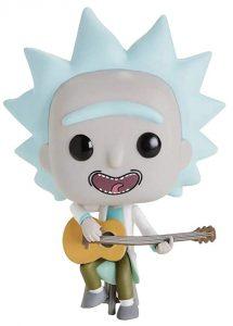 Funko POP de Rick con guitarra - Los mejores FUNKO POP de Rick y Morty - Los mejores FUNKO POP de series de dibujos animados