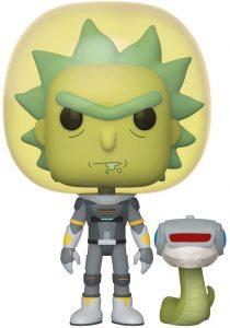 Funko POP de Rick traje espacial - Los mejores FUNKO POP de Rick y Morty - Los mejores FUNKO POP de series de dibujos animados