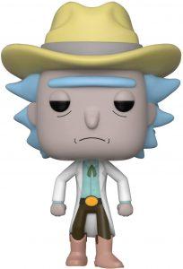 Funko POP de Rick vaquero - Los mejores FUNKO POP de Rick y Morty - Los mejores FUNKO POP de series de dibujos animados