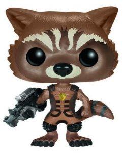 Funko POP de Rocket clásico 2 - Los mejores FUNKO POP de Rocket Racoon - Los mejores FUNKO POP de Guardianes de la Galaxia - Funko POP de Marvel de los Vengadores