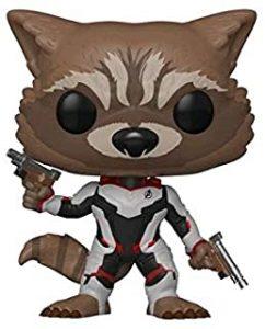 Funko POP de Rocket en End Game - Los mejores FUNKO POP de Rocket Racoon - Los mejores FUNKO POP de Guardianes de la Galaxia - Funko POP de Marvel de los Vengadores