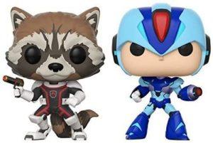 Funko POP de Rocket vs Megaman - Los mejores FUNKO POP de Rocket Racoon - Los mejores FUNKO POP de Guardianes de la Galaxia - Funko POP de Marvel de los Vengadores