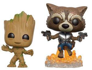 Funko POP de Rocket y Groot - Los mejores FUNKO POP de Rocket Racoon - Los mejores FUNKO POP de Guardianes de la Galaxia - Funko POP de Marvel de los Vengadores