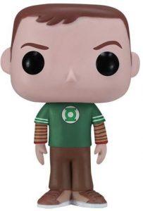 Funko POP de Sheldon Cooper clásico - Los mejores FUNKO POP de The Big Bang Theory - Funko POP de series de televisión