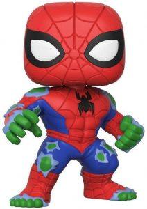 Funko POP de Spider-Hulk de 15 centímetros - Los mejores FUNKO POP de Spiderman - Los mejores FUNKO POP del Spiderverse - Funko POP de Marvel Comics - Los mejores FUNKO POP de los Vengadores