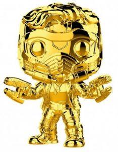 Funko POP de Star Lord dorado - Los mejores FUNKO POP de Star Lord - Los mejores FUNKO POP de Guardianes de la Galaxia - Funko POP de Marvel de los Vengadores