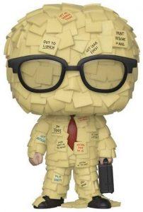 Funko POP de Sticky Note Man - Los mejores FUNKO POP de Trabajo Basura - Office Space- Funko POP de series de televisión