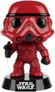 Funko POP de Stormtrooper rojo exclusivo - Los mejores FUNKO POP de Stormtroopers - Los mejores FUNKO POP de personajes de Star Wars