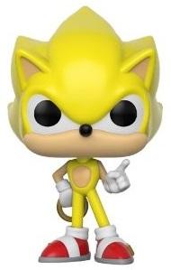 Funko POP de Super Sonic exclusivo - Los mejores FUNKO POP de Sonic - Los mejores FUNKO POP de personajes de videojuegos