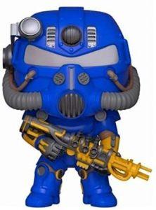 Funko POP de T-51 Power Armor azul - Los mejores FUNKO POP de Fallout - Los mejores FUNKO POP de personajes de videojuegos