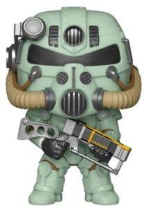 Funko POP de T-51 Power Armor verde - Los mejores FUNKO POP de Fallout - Los mejores FUNKO POP de personajes de videojuegos