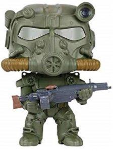 Funko POP de T-60 Green Power Armor - Los mejores FUNKO POP de Fallout - Los mejores FUNKO POP de personajes de videojuegos