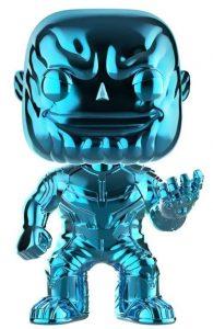 Funko POP de Thanos cromado azul - Los mejores FUNKO POP de Thanos - Funko POP de Marvel Comics - Los mejores FUNKO POP de los Vengadores