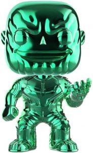 Funko POP de Thanos cromado verde - Los mejores FUNKO POP de Thanos - Funko POP de Marvel Comics - Los mejores FUNKO POP de los Vengadores